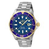 Invicta Men's Watches - Blue & Stainless Steel Pro Diver Bracelet Watch