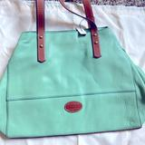 Coach Bags | Fossil Handbag, New With Tag | Color: Green | Size: Os