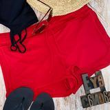 Athleta Swim   Athleta Womens Solid Board Shorts In Poppy   Color: Red   Size: S