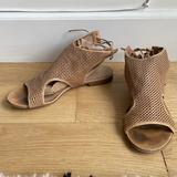 J. Crew Shoes | J.Crew Tan Leather Sandals Womens Size Us8 | Color: Tan | Size: 8