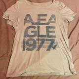 American Eagle Outfitters Tops   American Eagle Tee, Light Blue, Light Material   Color: Blue   Size: L