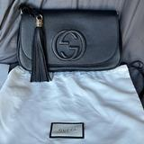 Gucci Bags | Gucci Soho Flap Crossbody, Black Authentic | Color: Black | Size: Os