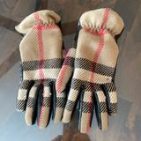 Burberry Accessories | Burberry Wool And Leather Gloves | Color: Black/Tan | Size: 6 12