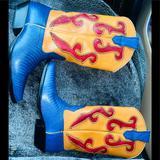 Nine West Shoes   Nine West Vintage 90s Leather Cowboy Boots 6.5   Color: Blue/Yellow   Size: 6.5