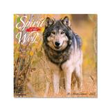 Willow Creek Press Calendars Various - Spirit of the Wolf 18-Month 2022 Wall Calendar