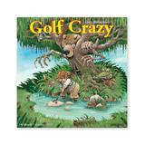 Willow Creek Press Calendars Various - Golf Crazy by Gary Patterson 18-Month 2022 Wall Calendar