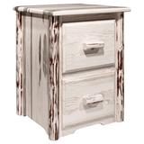 Montana Collection 2 Drawer File Cabinet - Montana Woodworks MWFC2