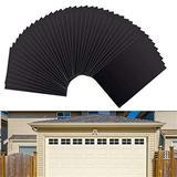 ATS Garage Door Magnetic Decorative Hardware, 32 Piece Garage Door Decorations, Garage Door Decor Decorative Window Sticker & Easy Installation