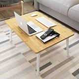 honer Lap Desk w/ Foldable Legs, Laptop Lap Desk Table Fits Up To Work Home Office, Portable Bed Desk For Notebook Stand, Breakfast Bed Tray Floor