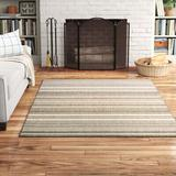 Andover Mills™ Oavia Taupe Area Rug Polypropylene in Black, Size 65.0 H x 45.0 W x 0.01 D in   Wayfair BCHH1512 34549412