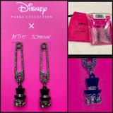 Disney Jewelry   Disney Parks Betsey Johnson Hatbox Ghost Earrings   Color: Black/Silver   Size: Os