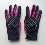 Nike Accessories   Black And Pink Nike Gloves   Color: Black/Pink   Size: Small
