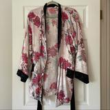 Free People Intimates & Sleepwear | Free People Kimono Style Robe | Color: Pink | Size: S