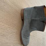Madewell Shoes | Madewell, Gray Ankle Boots Size 8 | Color: Gray | Size: 8