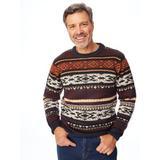 Men's John Blair Crewneck Novelty Sweater, Multi XL