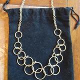 Nine West Jewelry | Nine West Vintage Circles Necklace | Color: Gold | Size: Os