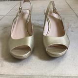 Nine West Shoes   3 For 15$ Nine West Metallic Able Heels   Color: Gold   Size: 7