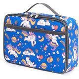 Zoomie Kids Kids Insulated Lunch Box Mini Cooler Bag For Men & Women,Ideal Size Lunch Tote For Girls & Boys in Blue, Size 7.9 H x 10.6 W x 4.1 D in