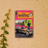 Williston Forge Metal Sign Munsters Drag-U-La Comic Vintage Bar Wall Decorative Home Tin Signs 8 X 12 Inches Metal | Wayfair