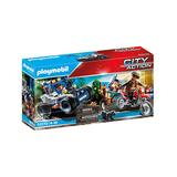 PLAYMOBIL Toy Building Sets - Police Off-Road Car Toy Set