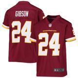 """Youth Nike Antonio Gibson Burgundy Washington Football Team Game Jersey"""