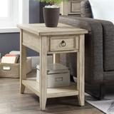Sawyer Place Chairside Table Cream , Cream