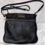Michael Kors Bags   Micheal Kors Black Crossbody Bag   Color: Black   Size: 10.5 Inches W 10 Inches L