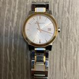 Burberry Accessories   Burberry Silver Dial Two-Tone Unisex Watch Bu9006   Color: Silver   Size: Os