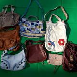 Michael Kors Bags | Lot Of 8 Purses Wholesale Resell Michael Kors Marc | Color: Blue/Brown | Size: Os