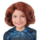 Avengers Girls' Costume Wigs 000 - Black Widow Wig - Kids