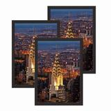 Red Barrel Studio® 13X19 Picture Frame 3 Pack, Solid Wood 13X19 Frame, 13 By 19 Frame For Wall Mounting Hardware Included Wood in Black | Wayfair