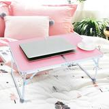 Inbox Zero Portable Multifunction Laptop Tray Desk Large Lazy Laptop Table in Pink | Wayfair A0D656263144466F90749C72CF5BC60A
