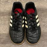Adidas Shoes   Adidas Kids Indoor Soccer Shoes 2y   Color: Black/White   Size: 2b