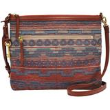 Fiona Fabric Crossbody - Red - Fossil Shoulder Bags