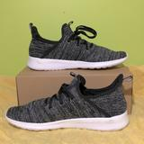 Adidas Shoes   Dark Grey Knitted Adidas Sneakers   Color: Black/Gray   Size: 10