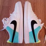 Nike Shoes | Nike Court Vision Low Womens 8.5 White | Color: Black/White | Size: 8.5