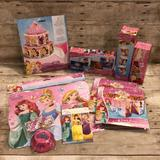 Disney Other | New Disney Princess Party Supplies | Color: Pink/Brown | Size: Osg