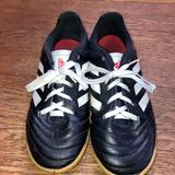 Adidas Shoes | Adidas Youth Indoor Soccer Shoe | Color: Black/White | Size: 1bb