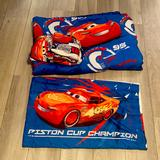 Disney Bedding   4- Piece Cars 3 Twin Bed Set   Color: Blue/Red   Size: Twin
