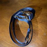 Michael Kors Accessories | Michael Kors New Nylon Slingstrap For Mk Bag | Color: Blue/Gold | Size: Standard Size Length For Michael Kors Sling