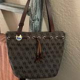 Dooney & Bourke Bags | Dooney & Bourke Small Tote Purse | Color: Brown | Size: 12 Wide X 10 Tall X 5 Wide