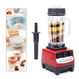 CNCEST 1500w Commercial High Power Blender Professional Mixed Grade Smoothies Shakes in Red, Size 15.74 H x 12.79 W x 10.82 D in | Wayfair