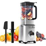 365usdeal Countertop Smoothie Blender, 1800W Professional High Powered Blender For Kitchen w/ 68Oz BPA-Free Pitcher Blender For Juice, Ice Crushing