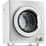 Relax Artist 2.65 Cu.Ft Compact Laundry Dryer, 9 LBS Capacity Compact Tumble Dryer w/ 1400W Drying Power, Easy Control Clothes Dryer in White