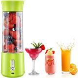 SDPP Portable Blender, 18 Oz Personal Blender For Shakes & Smoothies, 150W Powerful Smoothie Blender w/ Rechargeable USB, 6 Blades in Green | Wayfair