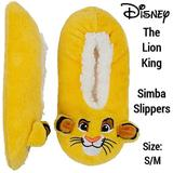 Disney Shoes | Disney The Lion King Adult Simba Slip On Slippers | Color: Gold/Yellow | Size: Sm (5.5-7.5)