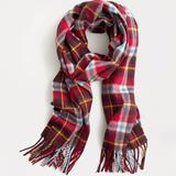 J. Crew Accessories   Abraham Moon For J.Crew Merino Wool Scarf   Color: Red   Size: Os