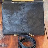 Gucci Bags | Gucci Black Pony Hair & Leather 3-Way Bag | Color: Black | Size: See Description