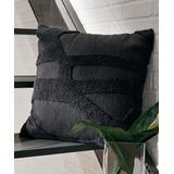 Signature Design by Ashley Furniture Throw Pillows Charcoal - Charcoal Osage Textured Throw Pillow