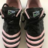 Adidas Shoes | Adidas Mls Kids Soccer Cleats Sz 6 Usa | Color: Black/Pink | Size: 6g